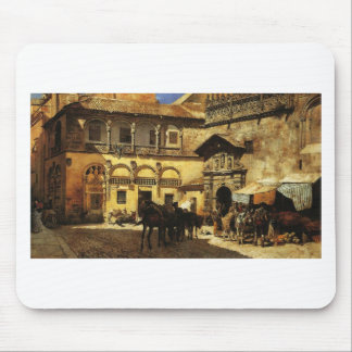 Market Square in Front of the Sacristy and Doorway Mouse Pad