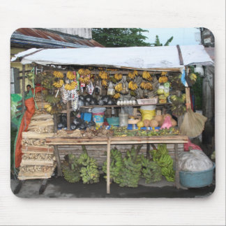 Market stall mouse pad