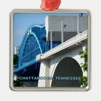 MARKET STREET BRIDGE - Chattanooga, TN Christmas Ornament