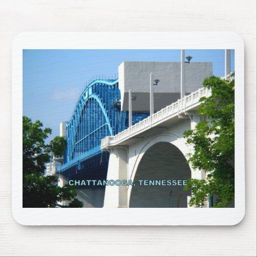 MARKET STREET BRIDGE - Chattanooga, TN Mousepad