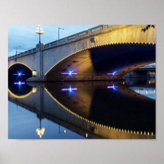 Market Street Bridge, Philadelphia Poster