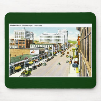 Market Street, Chattanooga, Tennessee Mouse Pad