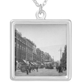 Market Street, Manchester, c.1910 2 Silver Plated Necklace