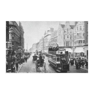 Market Street, Manchester, c.1910 Canvas Print