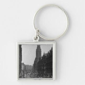 Market Street, Manchester, c.1910 Key Ring