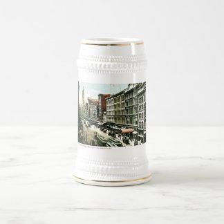 Market Street, Philadelphia , PA Beer Steins