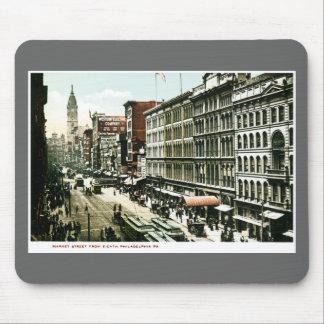 Market Street, Philadelphia , PA Mousepads