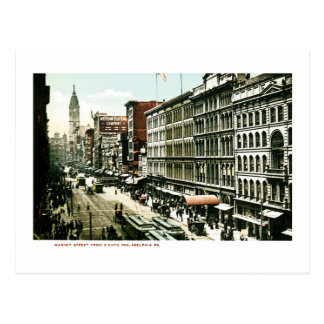 Market Street, Philadelphia , PA Postcard