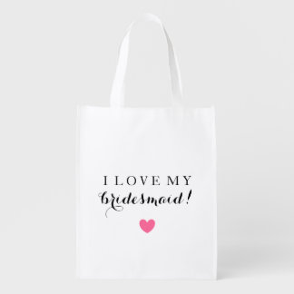 Market Tote - Bridesmaid Love