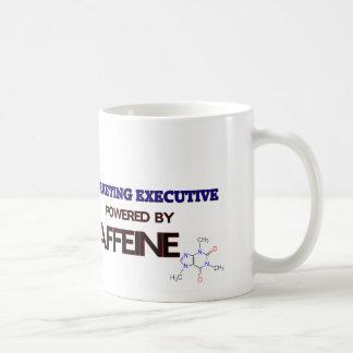 Marketing Executive Powered by caffeine Coffee Mug
