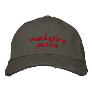 Marketing Genius Embroidered Hat