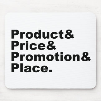 Marketing Mix | Product Price Promotion & Place Mouse Pads