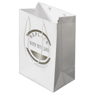 Marketing Promotion Business Place YOUR LOGO Medium Gift Bag