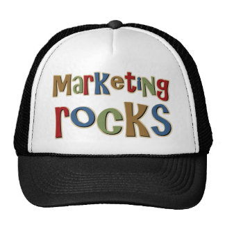 Marketing Rocks Trucker Hats