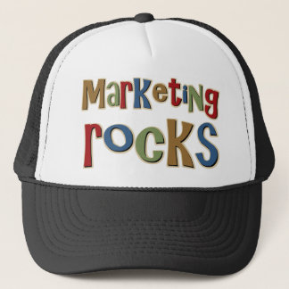 Marketing Rocks Trucker Hat