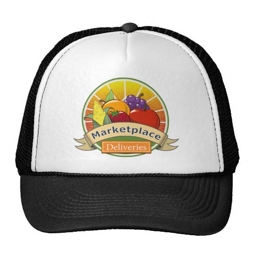Marketplace Deliveries Trucker Hats