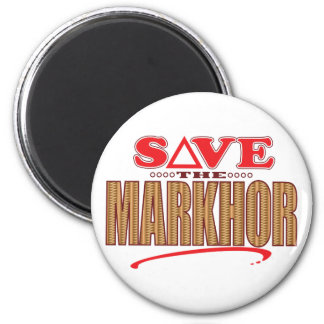 Markhor Save 6 Cm Round Magnet