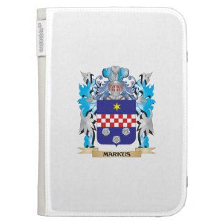 Markus Coat of Arms - Family Crest Kindle Keyboard Covers