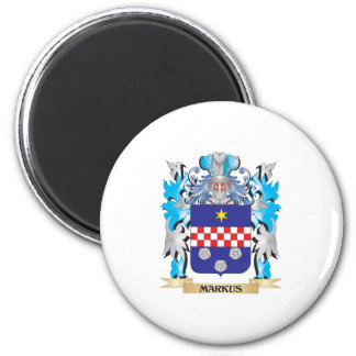Markus Coat of Arms - Family Crest Magnets