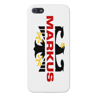 Markus Surname iPhone 5 Covers