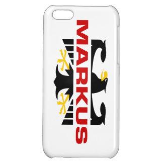 Markus Surname iPhone 5C Cases