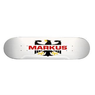 Markus Surname Skateboard Decks