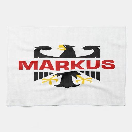 Markus Surname Kitchen Towel