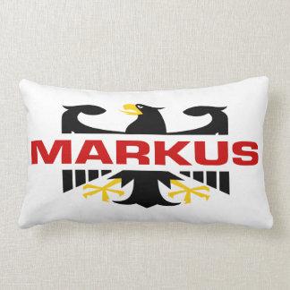 Markus Surname Throw Pillows
