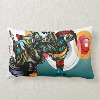 Marla & Zenith  Take on Mars Lumbar Cushion