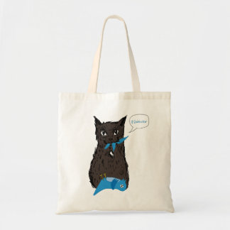 Marley Fish Hates Twitter Tote Bag