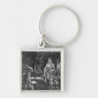 Marley's Ghost Key Ring