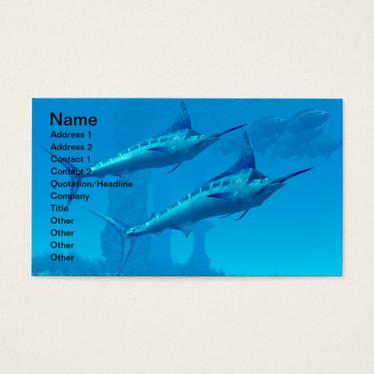 Marlin 02 Business Card