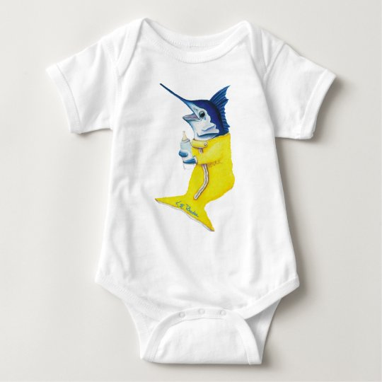 Marlin Baby Baby Bodysuit