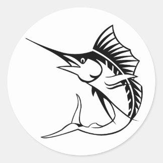 Marlin Classic Round Sticker