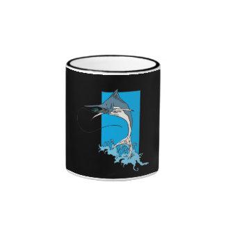Marlin Fishing Ringer Mug