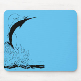 Marlin jumping mouse pad
