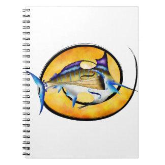 Marlinissos V1 - violinfish witout back Notebooks