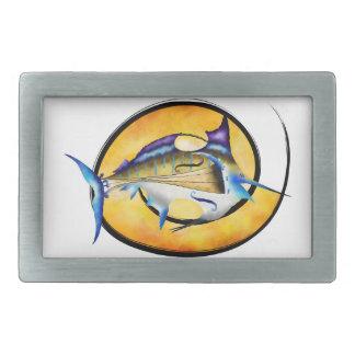 Marlinissos V1 - violinfish witout back Rectangular Belt Buckles