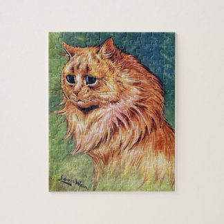 Marmalade Cat with Blue Eyes Puzzles