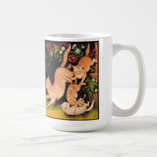 Marmalade Cats mug