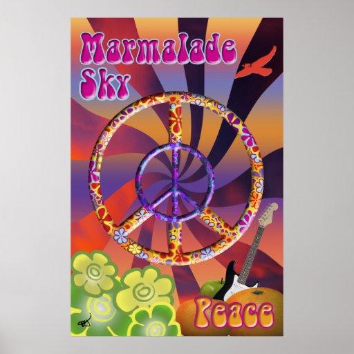 Marmalade Sky Poster