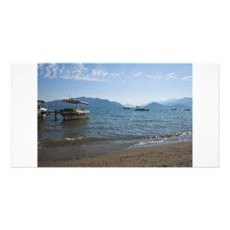 Marmaris Beach Photo Card