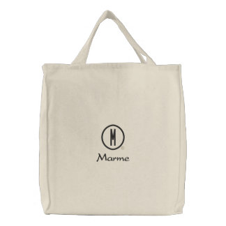 Marme's Embroidered Tote Bag
