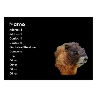 marmot large business cards (Pack of 100)