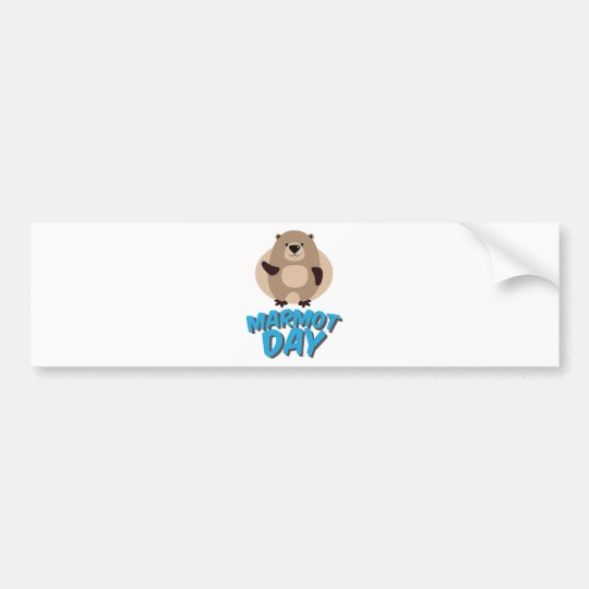 Marmot Day - Appreciation Day Bumper Sticker