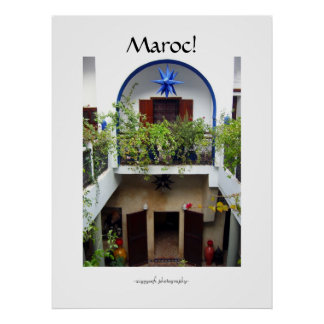 Maroc morocco poster