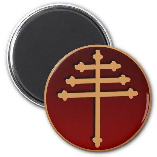 Maronite Magnet Cross