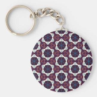 Maroon1 Basic Round Button Key Ring