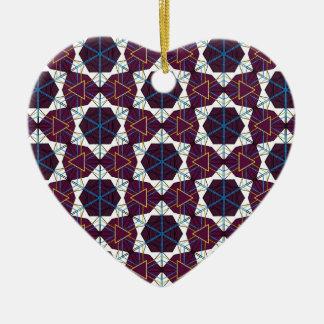 Maroon1 Ceramic Heart Decoration