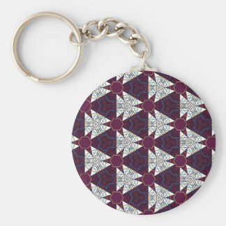 Maroon3 Basic Round Button Key Ring